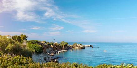 Almyrida & Kalives på Kreta, Grekland.
