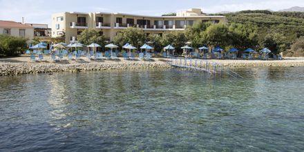 Vybild över Almyrida Studios på Kreta.