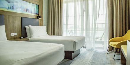 Dubbelrum på hotell Aloft Palm Jumeirah, Dubai.