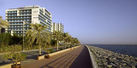 Hotell Aloft Palm Jumeirah, Dubai.