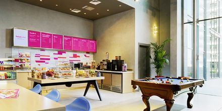 Re:fuel By Aloft (SM) café på hotell Aloft Palm Jumeirah, Dubai.