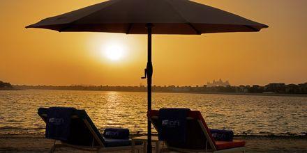 No'shu Beach på hotell Aloft Palm Jumeirah, Dubai.
