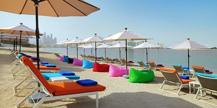 No Shu Beach på hotell Aloft Palm Jumeirah, Dubai.