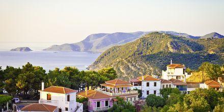 Chora, Alonissos i Grekland.