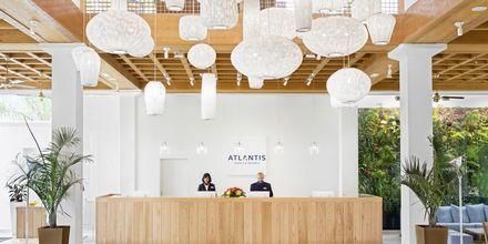 Reception på Suite Hotel Atlantis Fuerteventura Resort.