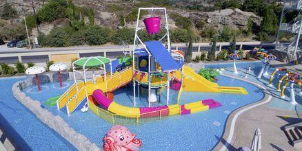 Vattenparken på Amada Colossos, Rhodos.