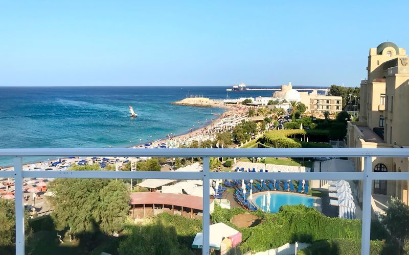 Hotell Amalia i Rhodos stad.
