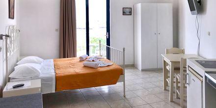Enrumslägenhet på hotell Amalia i Rhodos stad.