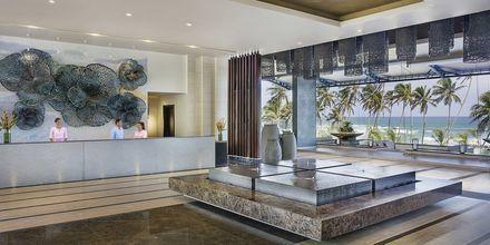 Lobbyn på hotell Amari Galle, Sri Lanka.