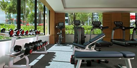 Gymmet på hotell Amari Hua Hin, Thailand.