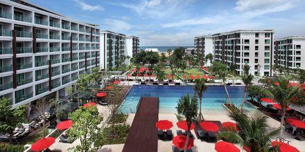 Poolområdet på hotell Amari Hua Hin, Thailand.