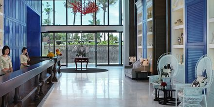 Lobby på hotell Amari Hua Hin, Thailand.