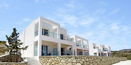 Nybyggda deluxerum på hotell Amopi Bay på Karpathos.