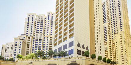 Hotell Amwaj Rotana Jumeirah Beach i Dubai, Förenade Arabemiraten.