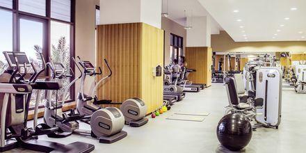 Gym på Amwaj Rotana Jumeirah Beach i Dubai, Förenade Arabemiraten.