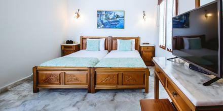 Enrumslägenhet på hotell Anais Holiday i Agii Apostoli på Kreta, Grekland.