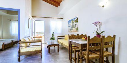 Tvårumslägenhet på hotell Anais Summerstar i Agii Apostoli, Kreta, Grekland.
