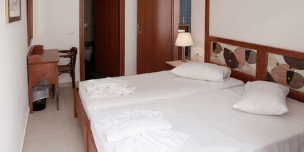 Tvårumslägenhet på hotell Anastasia i Kos stad, Grekland.
