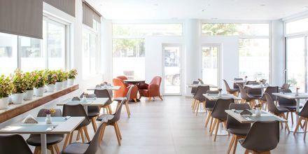 Restaurang på hotell Anastasia i Kos stad, Grekland.