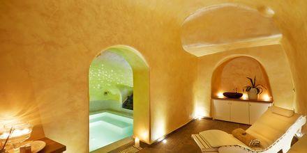 Spa på hotell Andromeda Villas i Caldera på Santorini, Grekland.