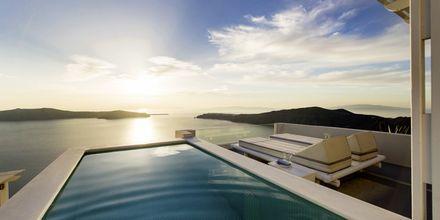 Deluxesvit på hotell Andromeda Villas i Caldera på Santorini.