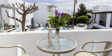 Tvårumslägenhet på hotell Anemomylos Residence på Paros.