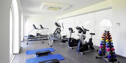 Gym på Anemos Luxury Grand Resort i Georgiopolis på Kreta.
