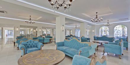Lobbyn på Anemos Luxury Grand Resort i Georgiopolis på Kreta.