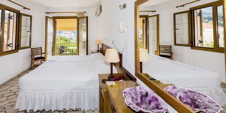 Lägenhet på hotell Angela i Kokkari på Samos.
