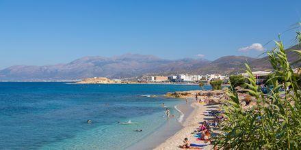Stranden i Anissaras på Kreta.