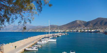 Hamnen i Anissaras på Kreta.