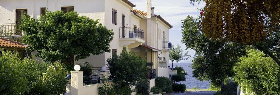 Hotell Anniska i Kardamili, Grekland.