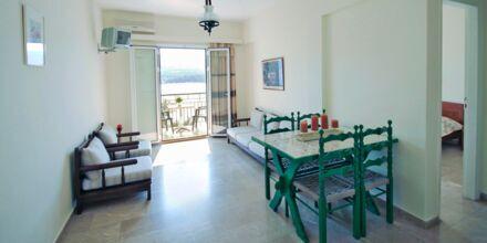 Tvårumslägenhet på hotell Anthemis i Samos stad.
