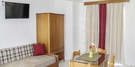Tvårumslägenhet på hotell Anthimos på Kreta.