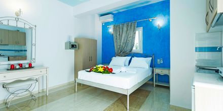 Enrumslägenhet på hotell Antonis i Parga, Grekland.