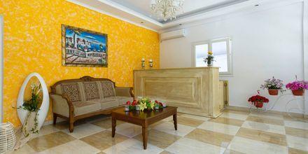 Lobbyn på hotell Antonis i Praga, Grekland
