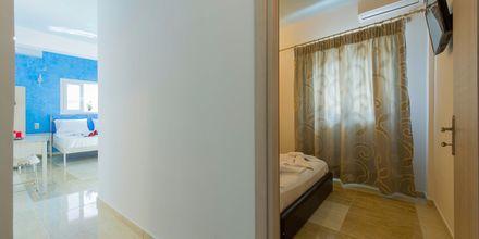Tvårumslägenhet på hotell Antonis i Parga, Grekland.