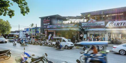 Ao Nang i Krabi, Thailand.