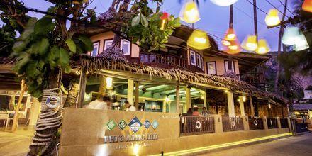 Strandrestaurangen på Apollos hotell Phra Nang Inn i Ao Nang.