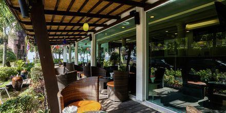 Café på hotell Aonang Princeville Villa Resort & Spa i Krabi, Thailand.