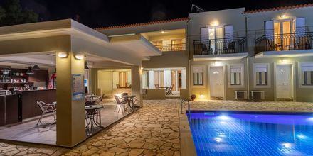 Hotell Aphrodite i Stoupa, Grekland.