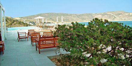 Hotellbaren på hotell Apolis, Karpathos.