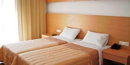Dubbelrum på hotell Apolis, Karpathos.