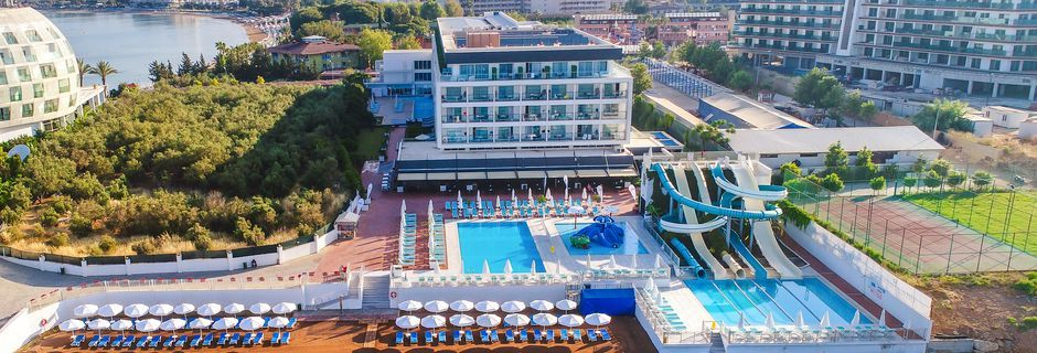 Hotell Apollo Mondo Family Gold Island i Alanya, Turkiet.