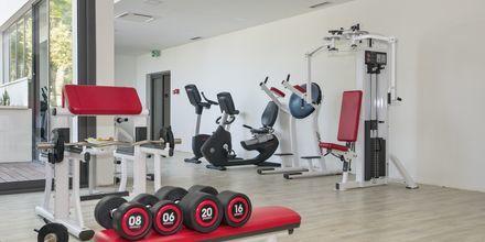 Gym på hotell Apollo Mondo Family Romana i Makarska, Kroatien.