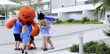 Polly & Mino på hotell Apollo Mondo Family Romana i Makarska, Kroatien.