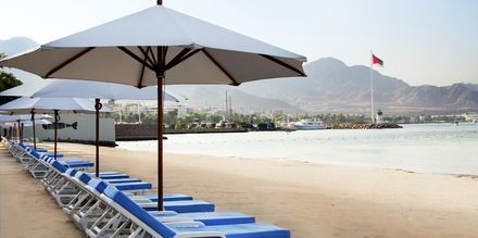 De flesta av de större hotellen i Aqaba har privata stränder.