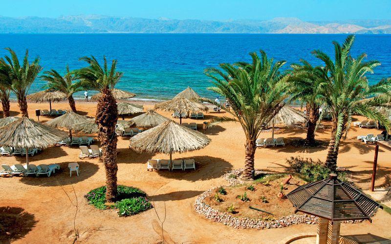 Strand i Aqaba.