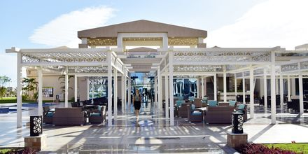 Lobbyn på hotell Aqua Vista i Hurghada, Egypten.