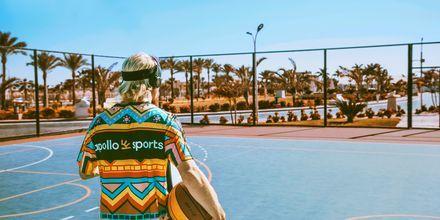 Basket på hotell Aqua Vista i Hurghada, Egypten.